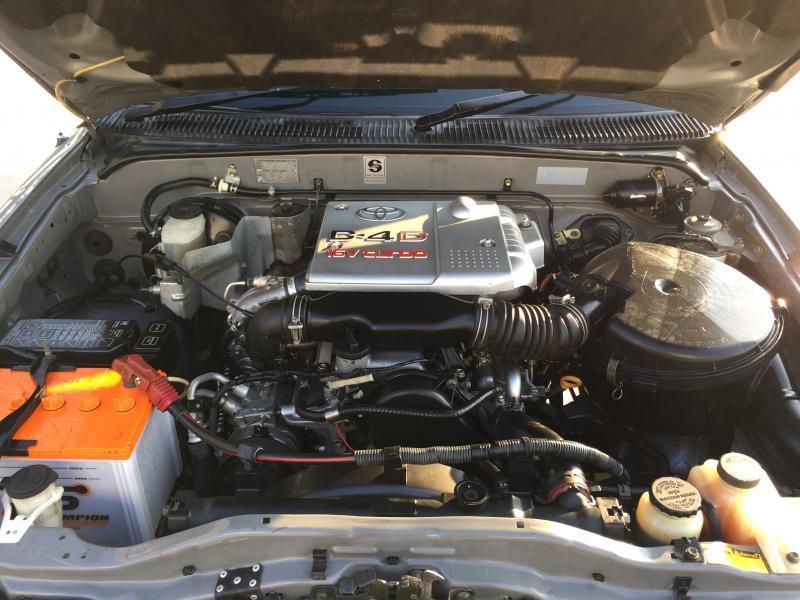 TIGER D4D CAB 2.5,M/T